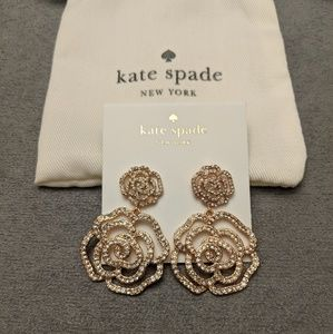 ♠️ Kate Spade rose gold earrings*MEW